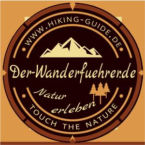 Logo der Wanderfuehrer / Hiking guide alles run um Wandern und gesundheitswandern